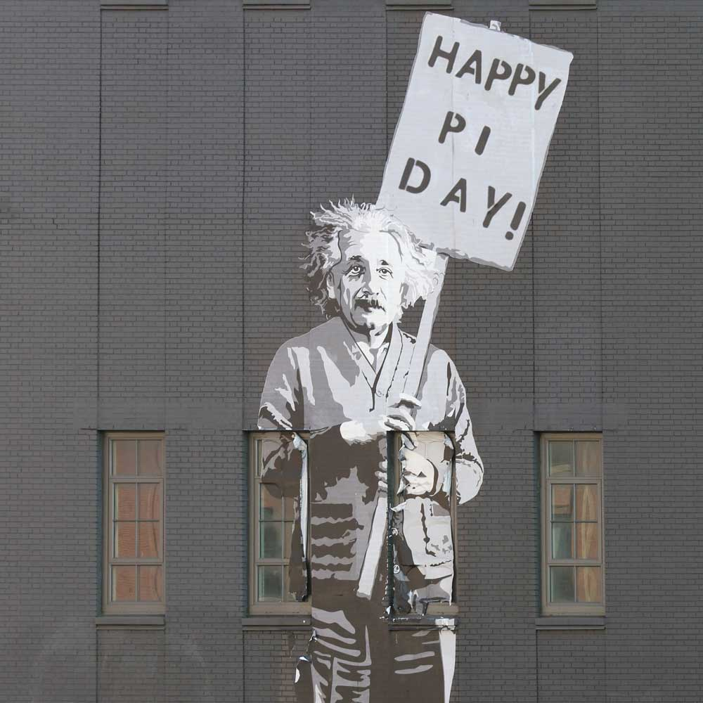 Happy Pi Day, Einstein