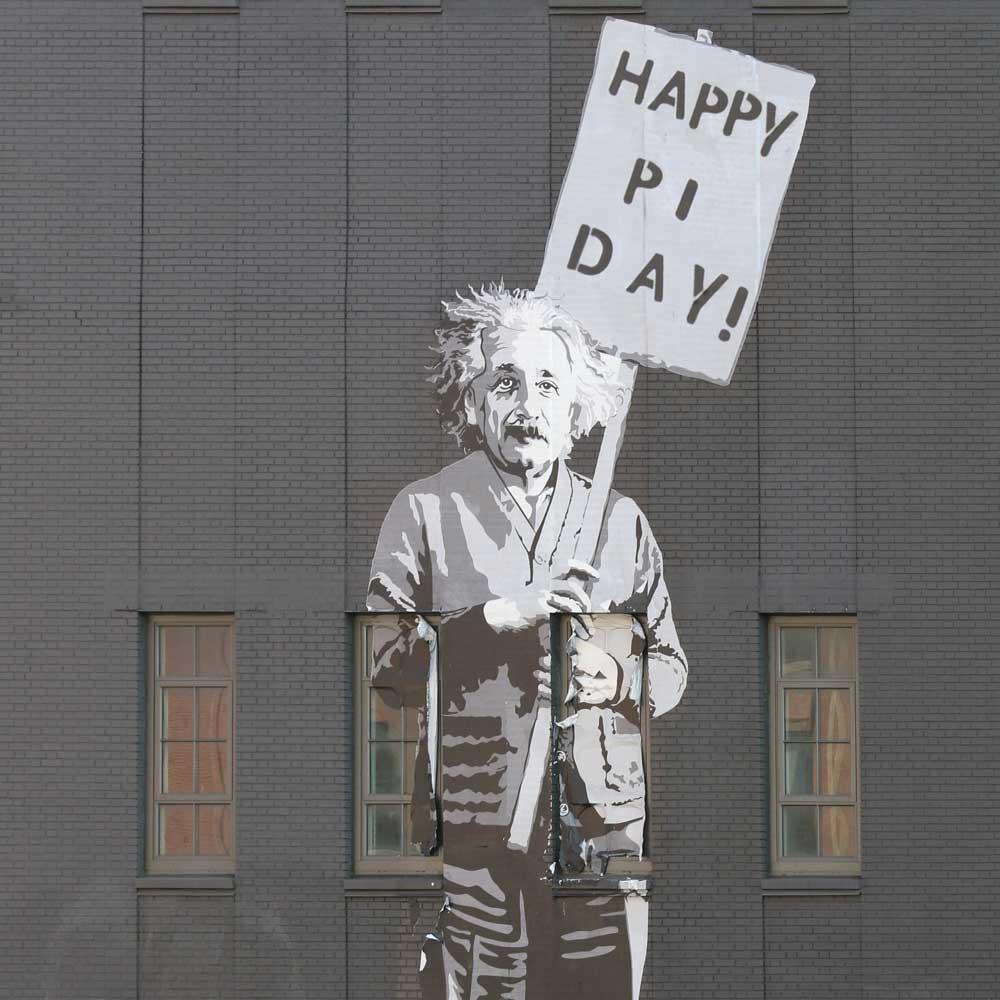Happy Pi Day, Einstein